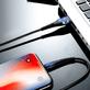 Cabo-USB-x-USB-C--Tipo-C--Carregamento-Rapido-2.4A-de-1m---Vermelho