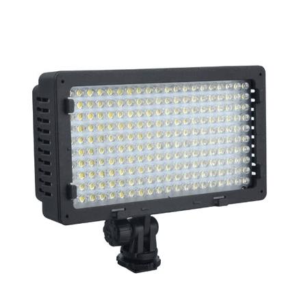 Iluminador-Led-Sun-Gun-CN-LUX2200-200Leds-Video-Light-Bi-Color-3200K-5400K-para-Filmadoras-e-Cameras