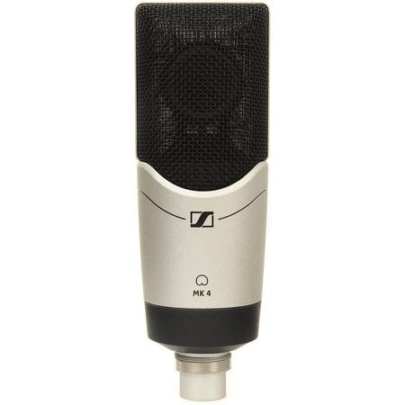 Microfone-de-Estudio-Sennheiser-MK-4-Condensador-Diafragma-Largo-XLR