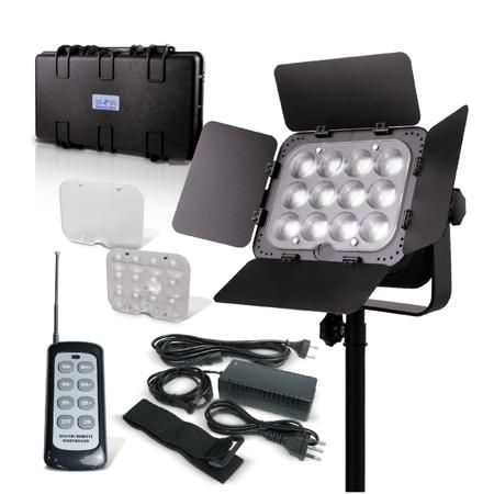 Iluminador-SunGun-Luz-Continua-12-Super-Leds-Bi-Color-Kit-Intermediario--Bivolt-