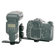 Suporte-L-Duplo-de-Montagem-Universal-1-4-TMB-16T-para-Flash-e-Camera