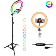 Iluminador-Led-Circular-13--MJ33-RGB-25W-Soft-Ring-Light-Live-33cm-USB-com-Tripe-e-Suporte-SmartPhone