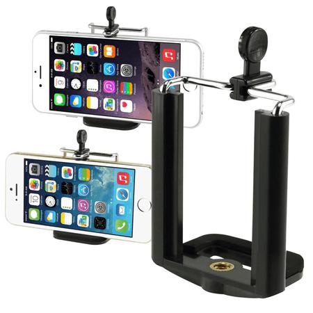 Suporte-de-Celular---SmartPhone-Clip-Universal-para-Tripe-e-Bastoes-Selfie-Para-iPhone---Samsung---Motorola---Sony