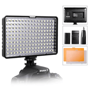 Iluminador-Painel-Led-TL-160-Slim-Video-Light-com-Bateria-e-Carregador