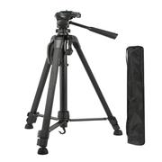 Tripe-Compacto-WV-3520-Portatil-com-Cabeca-Pan-Tilt-de-1.40m-para-3Kg--Aluminio-