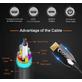 Cabo-Fibra-Optica-Ativo--AOC--Hdmi-2.0-4K-60Hz---18Gbps-de-Alta-Velocidade---10m
