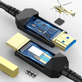 Cabo-Hdmi-2.0-Fibra-Optica-Ativa--AOC--4K-60Hz-HDCP2.2-18Gbps-de-Alta-Velocidade---6metros