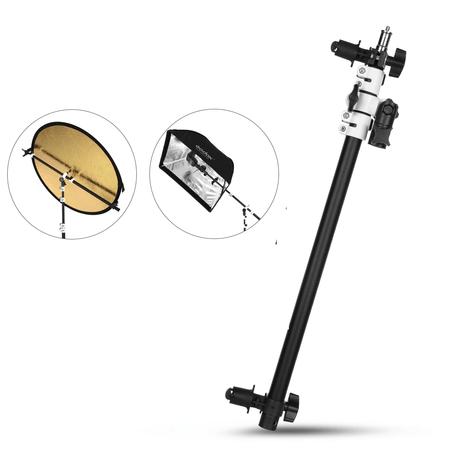Suporte-Holder-Bracket-Lanca-F2-para-Rebatedores-e-Iluminadores-de-Estudio