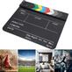 Claquete-Diretor-Clapper-Board-1.8-Acrilico-com-Varas-Coloridas--Preta-