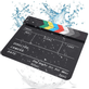 Claquete-Diretor-Clapper-Board-2.5-Acrilico-com-Varas-Coloridas--Preta-
