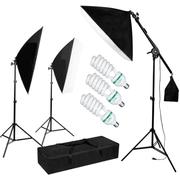 Kit-Iluminacao-Estudio-Softbox-50x60cm-3x-Lampadas-135w-Girafa-e-Tripes-de-Iluminacao--110V-