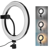 Iluminador-Led-Circular-10--Ring-Light-Live-USB-com-Suporte-de-Celular