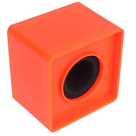Canopla-Flag-de-Microfones-38mm-Quadrada-para-Entrevista---Laranja