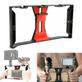 Gaiola-Cage-para-SmartPhone-com-Suporte-Handle-Grip-e-Sapatas