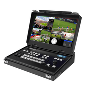 Switcher-com-Monitor-Portatil-NeoiD-Estudio-6--SDI-HDMI-Streaming-USB-UVC-e-MultiView-de-6-Canais