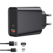 Carregador-Rapido-Duplo-USB-x-USB-C-Quick-Charge-3.0-Qualcomm