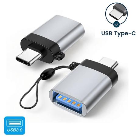 Mini Adaptador USB3.0 para USB-C OTG