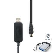 Cabo-de-Alimentacao-CA-AC-L100-USB-3.0-com-Adaptador-USB-C-para-Filmadoras-Sony-Handycam