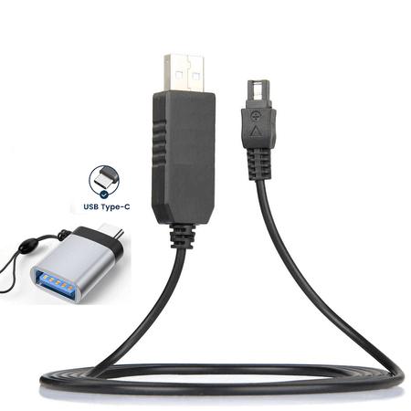 Cabo-de-Alimentacao-CA-AC-L200-USB-3.0-com-Adaptador-USB-C-para-Filmadoras-Sony-Handycam