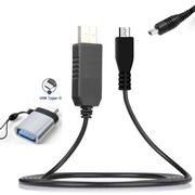 Cabo-de-Alimentacao-CA-AA-E6-USB-3.0-com-Adaptador-USB-C-para-Filmadoras-Samsung