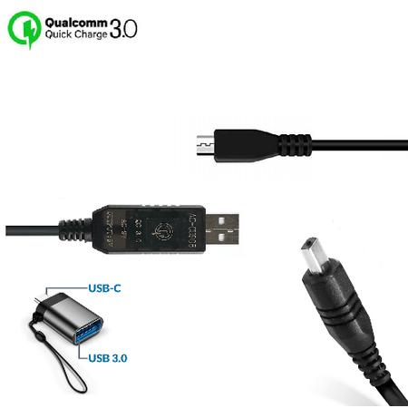 Cabo-de-Alimentacao-CA-AA-E9-USB-3.0-com-Adaptador-USB-C-para-Filmadoras-Samsung