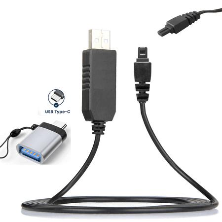 Cabo-de-Alimentacao-CA-560-USB-3.0-com-Adaptador-USB-C-para-Canon-PowerShot-e-Filmadoras
