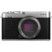 Camera-FujiFilm-X-E4-Mirrorless-4K-Prata--So-Corpo-