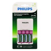 Carregador-de-Pilhas-Philips-com-4-Pilhas-AA-Recarregaveis-2450mAh-SCB2445NB--Bivolt-