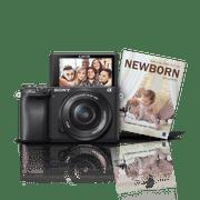 Camera-Sony-a6400-Mirrorless-com-Lente-16-50mm---ILCE-6400L-B