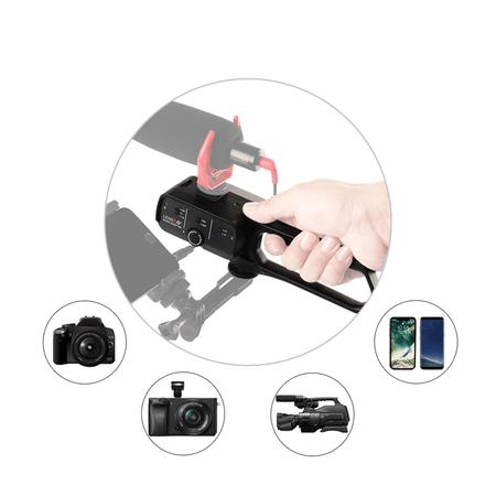Adaptador-LensGo-D1L-para-Frequencia-de-Audio-de-Microfones