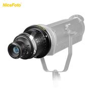 Difusor-Modelador-de-Iluminador-Nicefoto-SN-29-com-Lente-Yongnuo-50mm-F1.8-