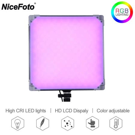 Iluminador-Painel-Led-Slim-NiceFoto-TC-668II-RGB-Video-Light--Fonte-Bivolt-