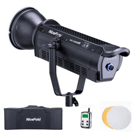 iluminador-led-nicefoto-ha-3300bii-cob-video-light-daylight-330w-bowens-bivolt