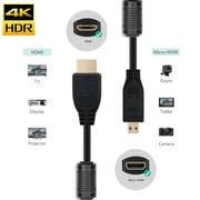 Cabo-HDMI-x-Micro-HDMI-2.0-4K-Ultra-HDR-com-Filtro-de-Anti-Ruido-Duplo--1Metro-
