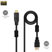 Cabo-HDMI-x-Micro-HDMI-2.0-4K-Ultra-HDR-com-Filtro-de-Anti-Ruido-Duplo--3metros-
