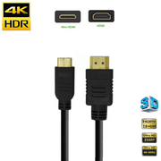 Cabo-HDMI-x-Mini-HDMI-2.0-4K-2160P-HDR-de-Alta-Velocidade--50cm-