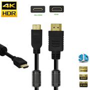 Cabo-HDMI-x-Mini-HDMI-2.0-4K-Ultra-HDR-com-Filtro-de-Anti-Ruido-Duplo-100cm---1metro