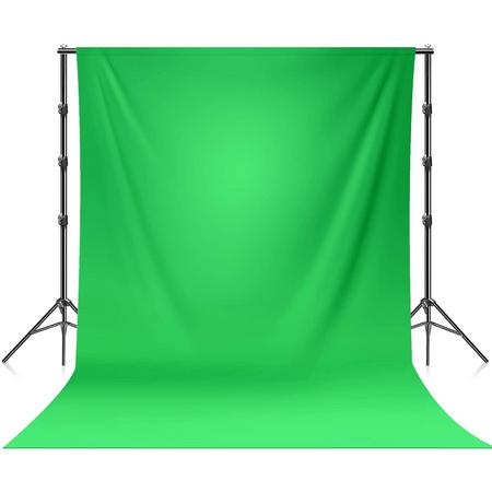 Kit-Suporte-Estande-e-Fundo-Infinito-ChromaKey-Verde-Algodao-3-Metros-para-Estudio-Fotografico