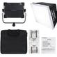 Iluminador-Led-Yongnuo-YN6000-Bi-Color-50W-Video-Light-com-Softbox