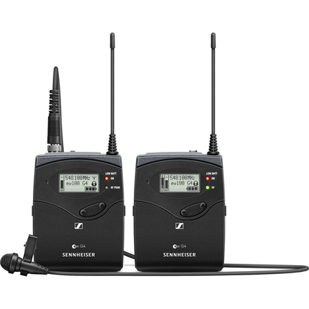 Sistema-Microfone-Lapela-ME-2-II-Sennheiser-EW-112P-G4-G-Wireless-Montagem-em-Cameras--G-566-a-608MHz-