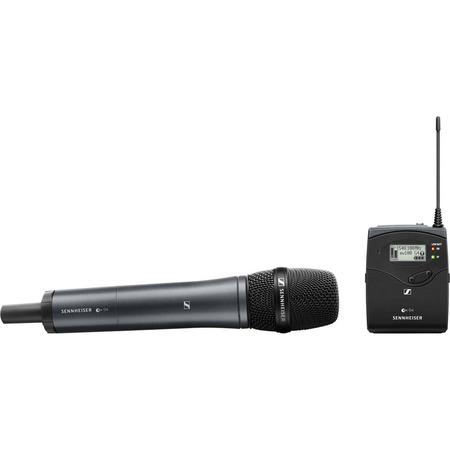 Sistema-Microfone-de-Mao-Cardioide-Sennheiser-EW-135P-G4-A-Wireless-Montagem-em-Camera--A-516-558MHz-