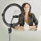 Iluminador-Led-Circular-AFI-R11-Ring-Light-28cm-Live-USB-com-Suporte-de-Celular