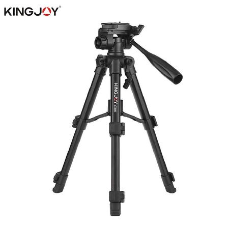 Tripe-Compacto-Kingjoy-VT-850-com-Cabeca-Panoramica-360°-ate-2kg--Aluminio-
