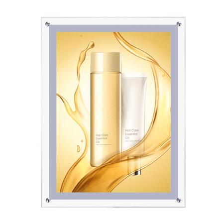 Moldura-Cristal-Light-Box-Led-A2-Painel-Slim-Retroiluminado-para-Fotos-e-Poster-Publicitario--Acrilico-