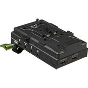 Plate-Bateria-V-Mount-LanParte-VBP-01-com-Divisor-HDMI