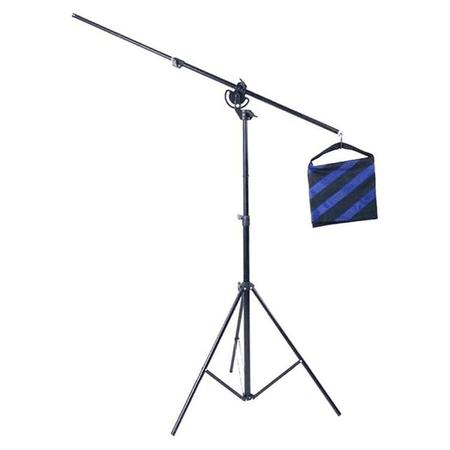 Tripe-de-Iluminacao-Girafa-2-em-1-Greika-WT-501-Light-Stand