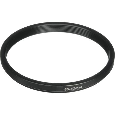 Anel-Adaptador-SD-Step-Down-55-52mm-para-Filtro-de-Lente