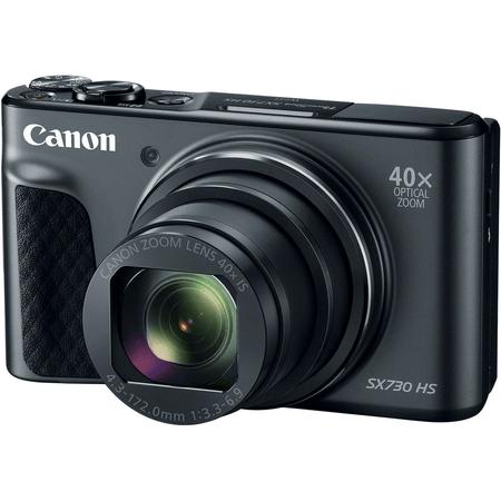 Camera-Canon-PowerShot-SX730-HS-40x-Zoom--Preta-