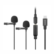 Microfones-Duplo-Lapela-Boya-BY-M2D-Omnidirecional-Conector-Lightning--iOS-