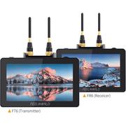 Kit-2x-Monitores-com-Sistema-Transmissor-e-Receptor-FeelWorld-FR6-FT6-Wireless